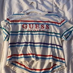 Guess crop top size extra small